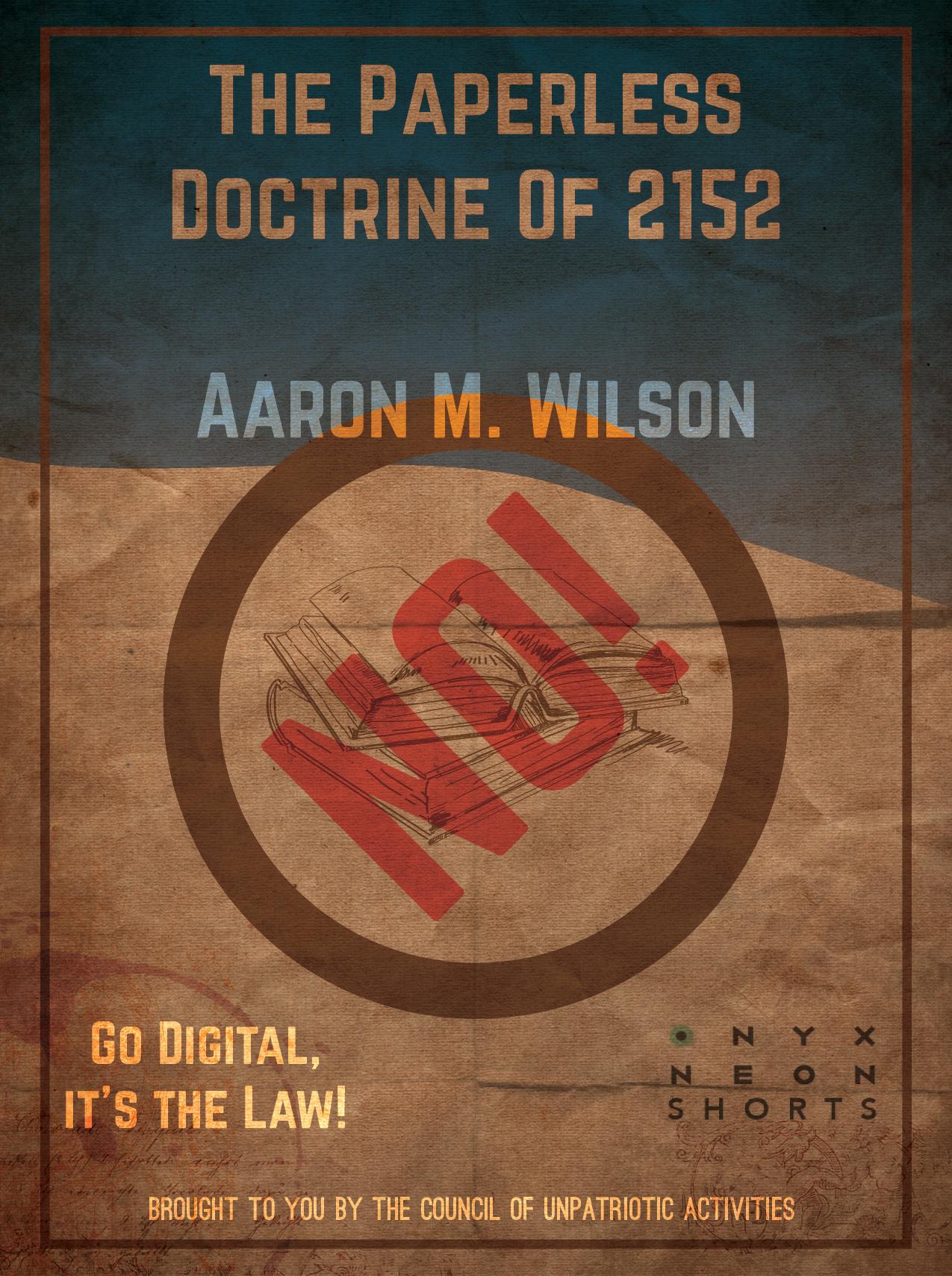 Cover - Wilson, Aaron - Paperless Doctrine-306x410