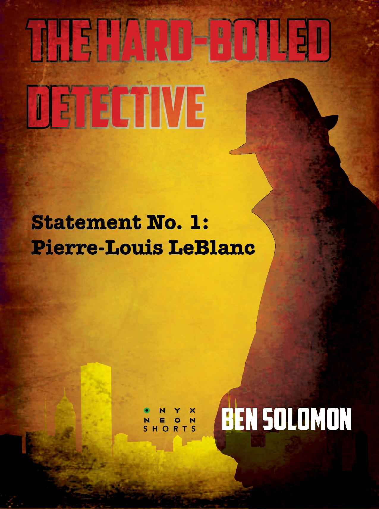 Hard Boiled Detective Novels No 1 - 306x410